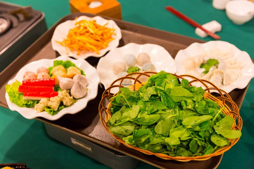 """Photo of Pure Veggie House  by <a href=""""/members/profile/Stevie"""">Stevie</a> <br/>http://www.meetup.com/Meat-Free-Hong-Kong/events/226368871/ World Vegan Day hot pot 7 <br/> November 3, 2015  - <a href='/contact/abuse/image/16829/123641'>Report</a>"""