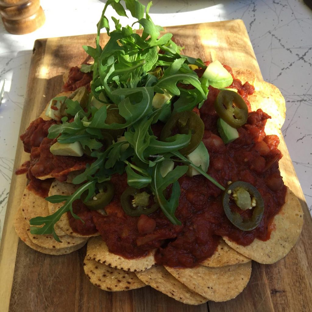 """Photo of Cafe Komodo  by <a href=""""/members/profile/AaronTimo"""">AaronTimo</a> <br/>6 bean chilli nachos <br/> July 4, 2015  - <a href='/contact/abuse/image/16840/108194'>Report</a>"""