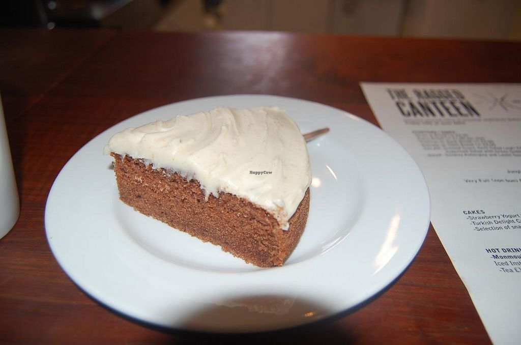 """Photo of The Ragged Canteen  by <a href=""""/members/profile/Clare"""">Clare</a> <br/>Vegan Turkish Delight Cake <br/> June 20, 2015  - <a href='/contact/abuse/image/16842/106596'>Report</a>"""
