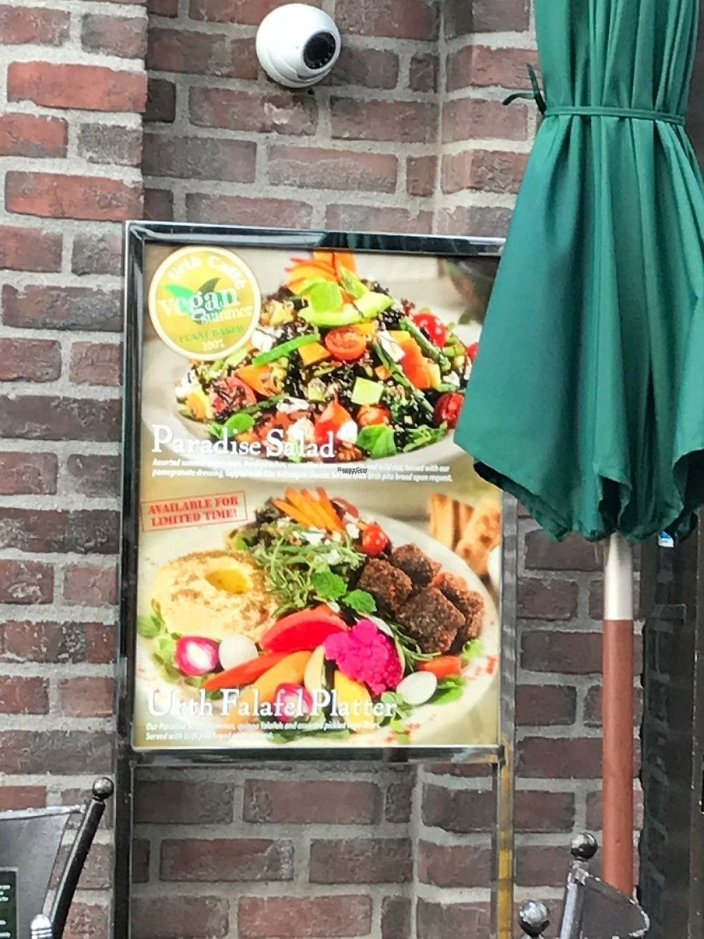 """Photo of Urth Caffe  by <a href=""""/members/profile/rackoo"""">rackoo</a> <br/>They're dabbling with vegan food options.  Ask because these are promos off their regular menu <br/> January 16, 2017  - <a href='/contact/abuse/image/16851/212499'>Report</a>"""
