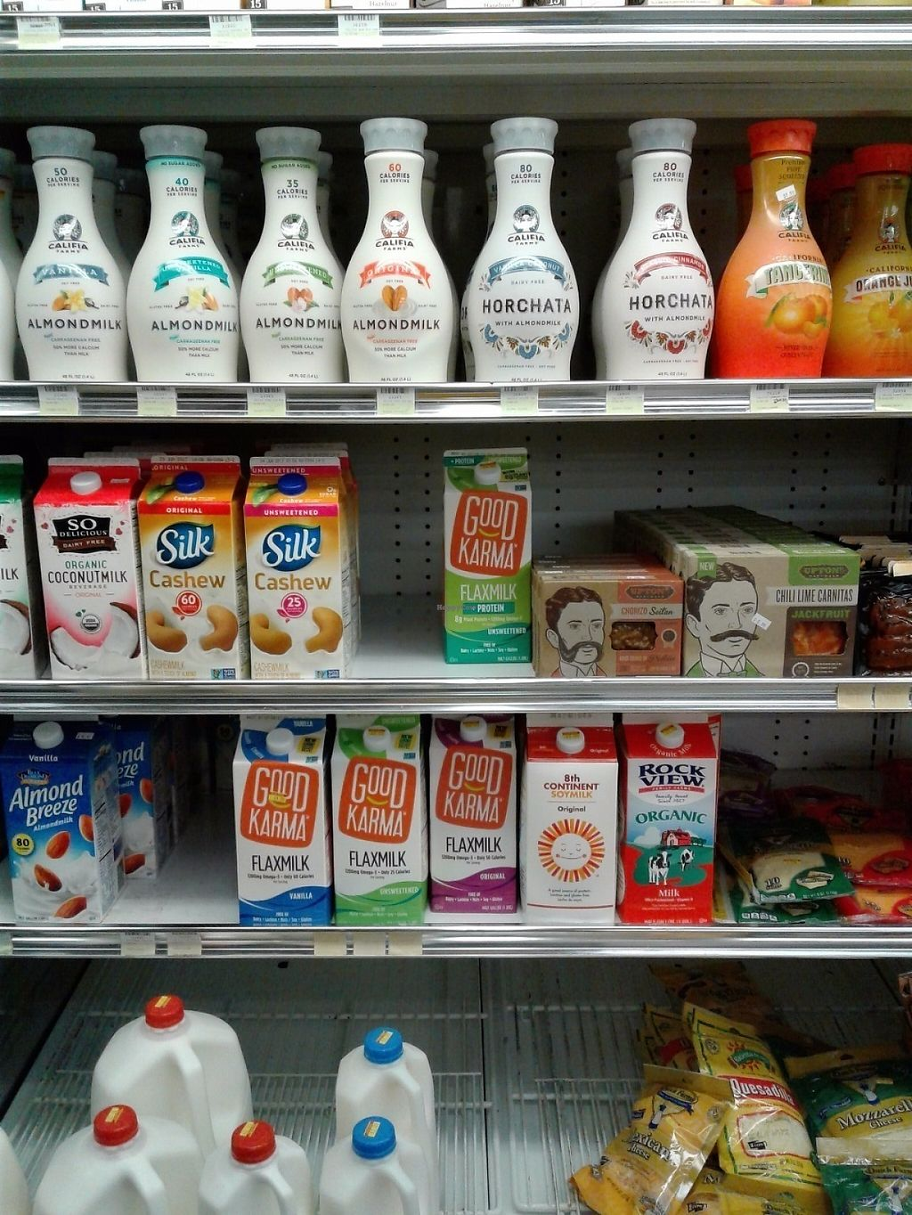 """Photo of La Sierra Natural Foods  by <a href=""""/members/profile/anastronomy"""">anastronomy</a> <br/>Plantbased milks <br/> May 22, 2017  - <a href='/contact/abuse/image/16869/261210'>Report</a>"""