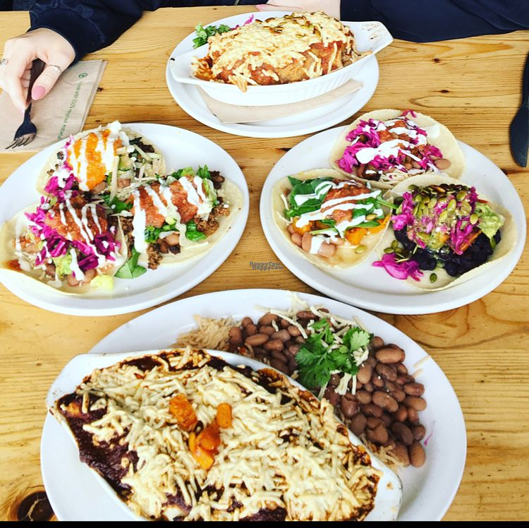 """Photo of Bandidas Taqueria  by <a href=""""/members/profile/Dopethrone91"""">Dopethrone91</a> <br/>veganized <br/> September 5, 2016  - <a href='/contact/abuse/image/16939/173870'>Report</a>"""