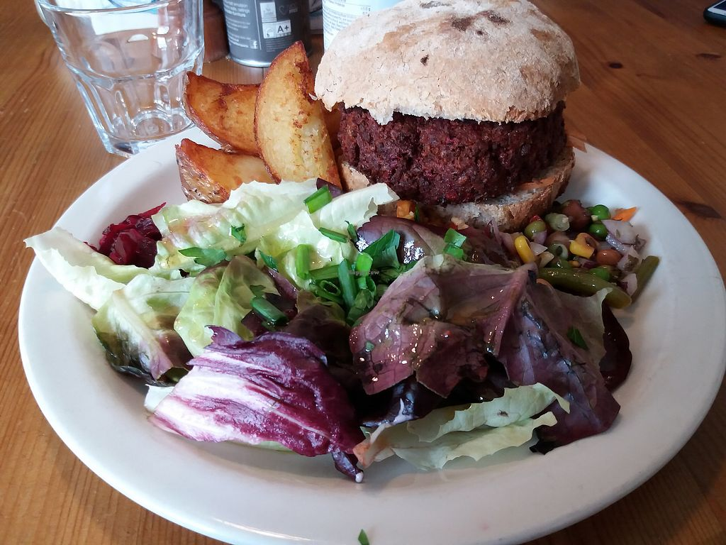 "Photo of The Treehouse Restaurant  by <a href=""/members/profile/Janina"">Janina</a> <br/>veggie burger <br/> October 16, 2017  - <a href='/contact/abuse/image/16950/315827'>Report</a>"