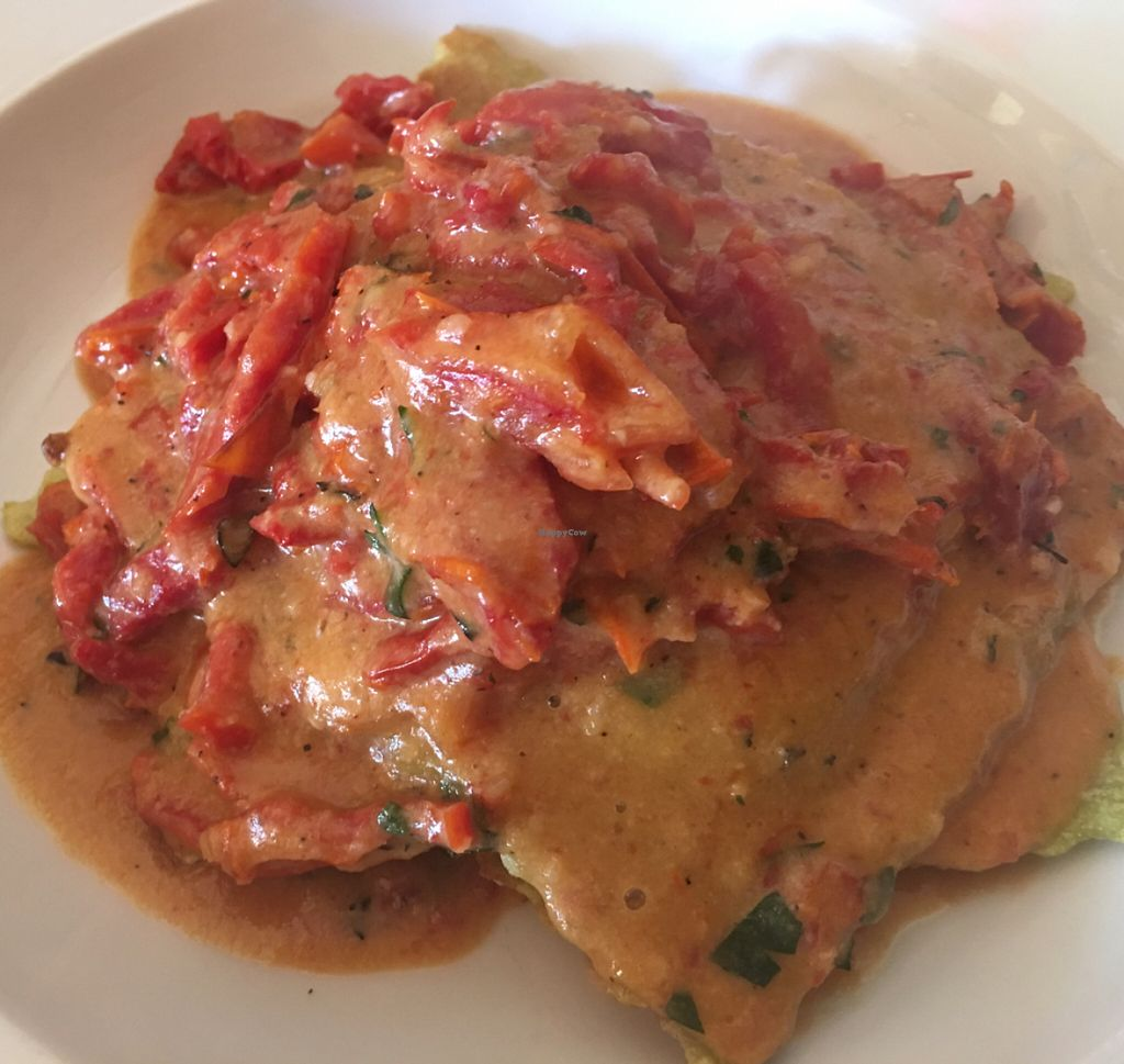 """Photo of Merge  by <a href=""""/members/profile/gwild"""">gwild</a> <br/>vegan ravioli <br/> July 16, 2016  - <a href='/contact/abuse/image/16959/160335'>Report</a>"""