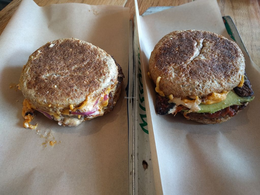 """Photo of Locali  by <a href=""""/members/profile/Sonja%20and%20Dirk"""">Sonja and Dirk</a> <br/>Bad Ass and Cadillac breakfast sandwiches <br/> February 15, 2016  - <a href='/contact/abuse/image/16962/136464'>Report</a>"""