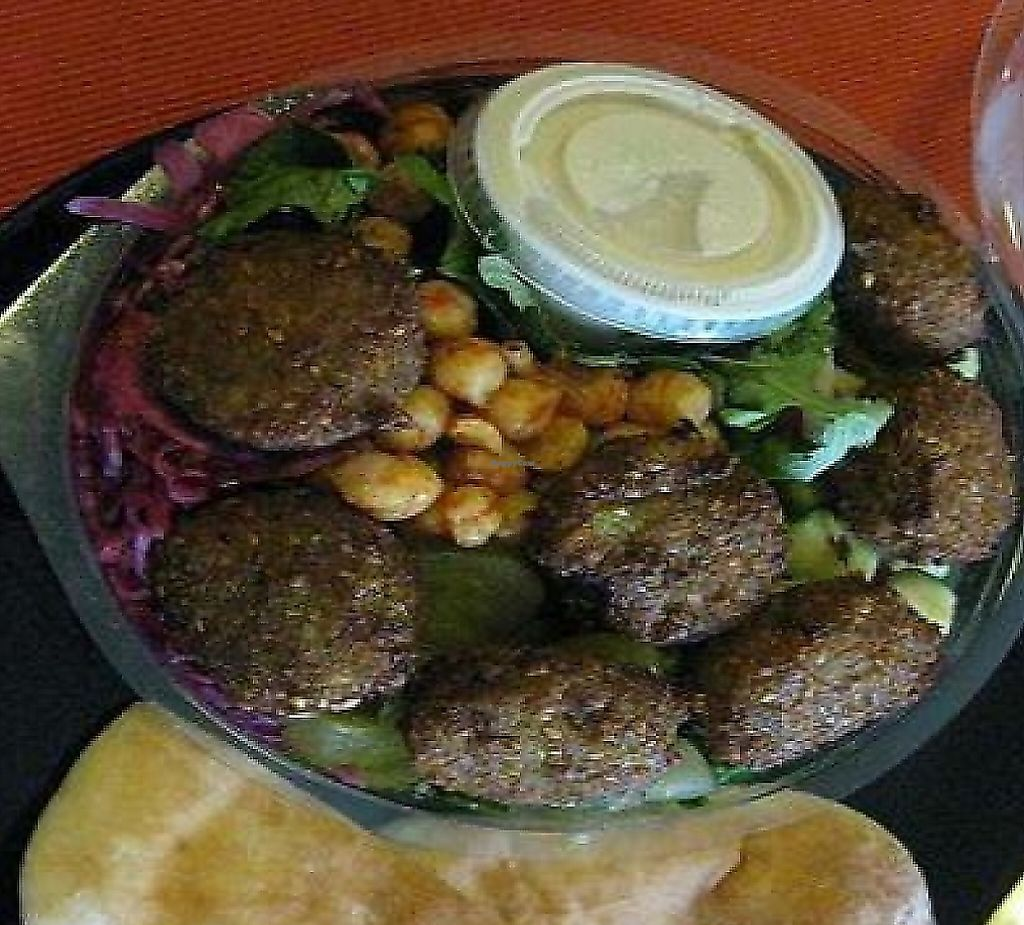 Photo of Sabbaba  by Kitteh <br/>Felafel bowl <br/> June 23, 2009  - <a href='/contact/abuse/image/16980/248815'>Report</a>