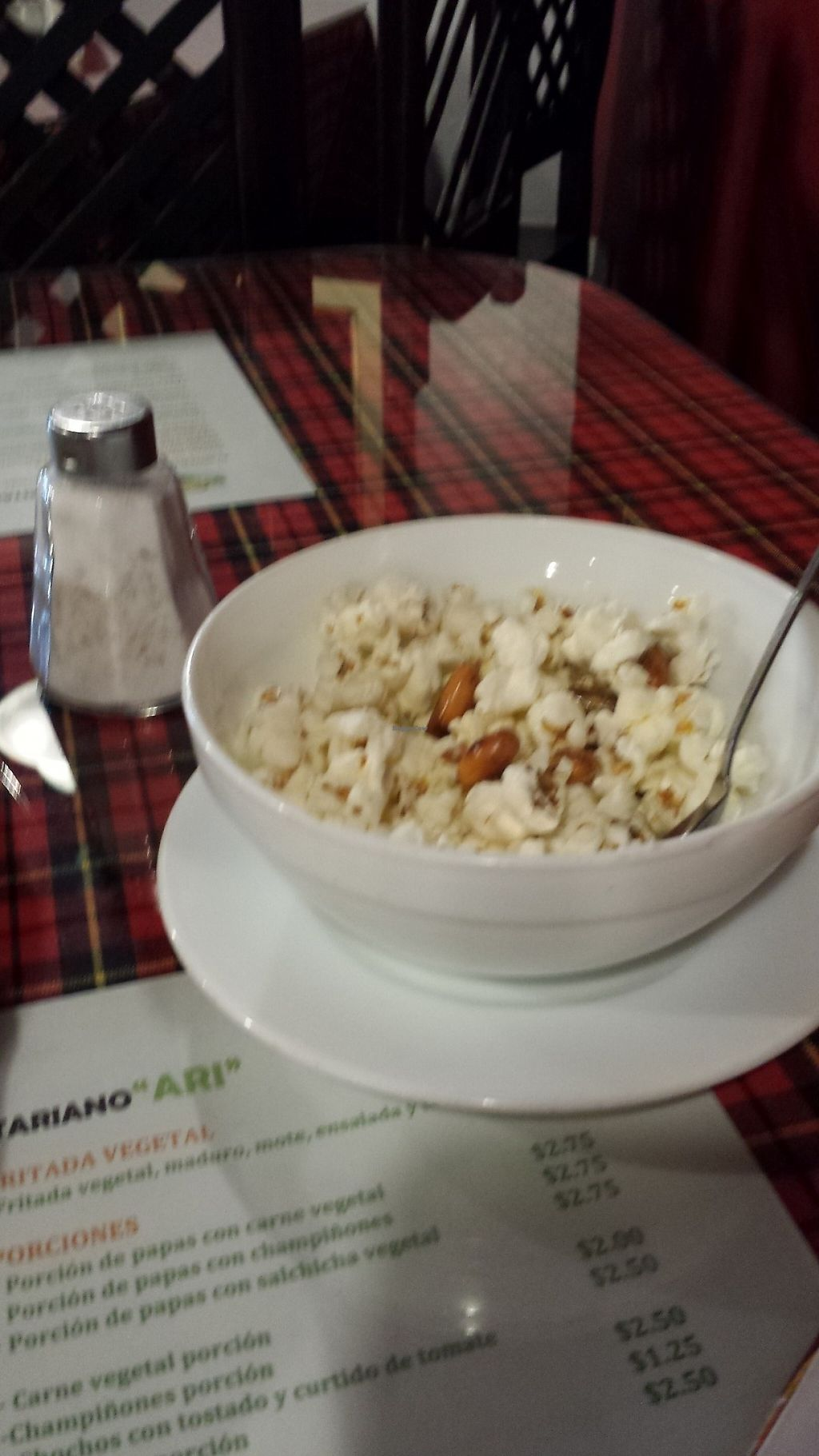 """Photo of Ari Comida Sana  by <a href=""""/members/profile/Yona"""">Yona</a> <br/>Free popcorn while you wait <br/> June 1, 2017  - <a href='/contact/abuse/image/16990/264694'>Report</a>"""