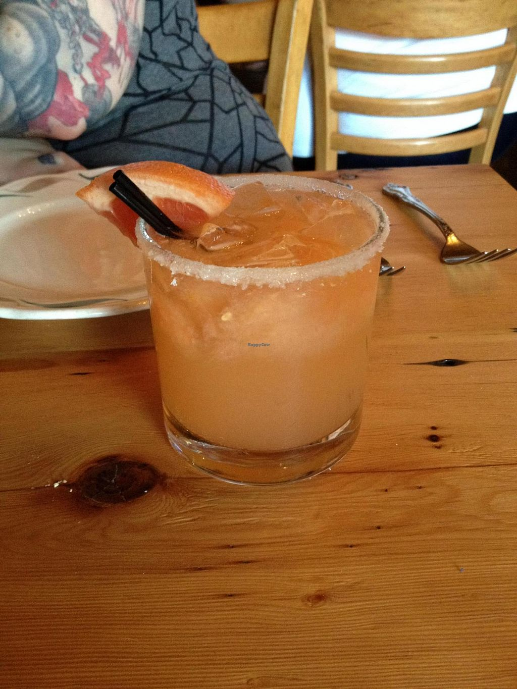 "Photo of CLOSED: Portobello Vegan Trattoria  by <a href=""/members/profile/Posi%20Britt"">Posi Britt</a> <br/>Sea Shepherd mocktail! <br/> June 25, 2014  - <a href='/contact/abuse/image/17009/72762'>Report</a>"