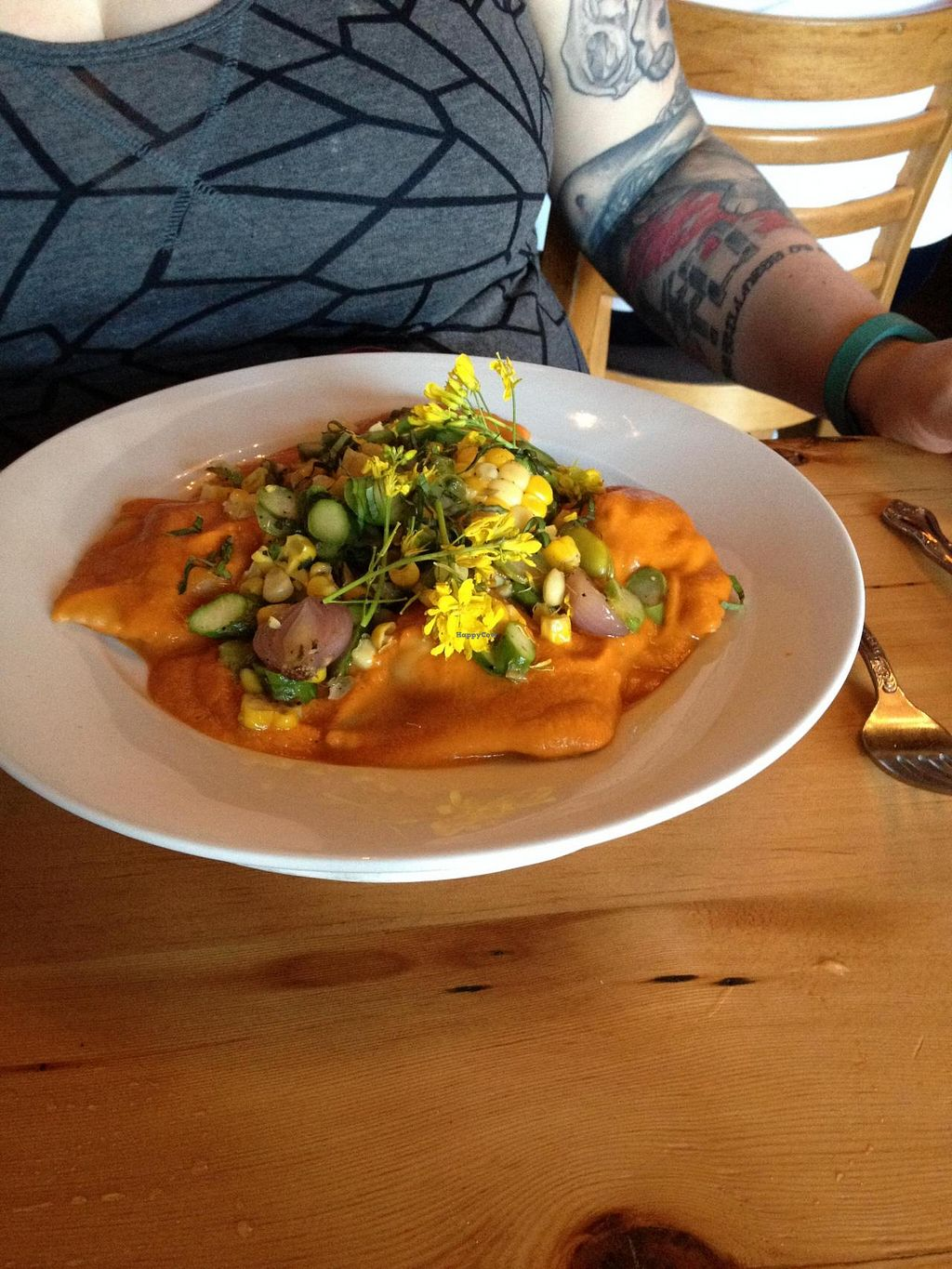 "Photo of CLOSED: Portobello Vegan Trattoria  by <a href=""/members/profile/Posi%20Britt"">Posi Britt</a> <br/>Butternut squash ravioli! <br/> June 25, 2014  - <a href='/contact/abuse/image/17009/72763'>Report</a>"