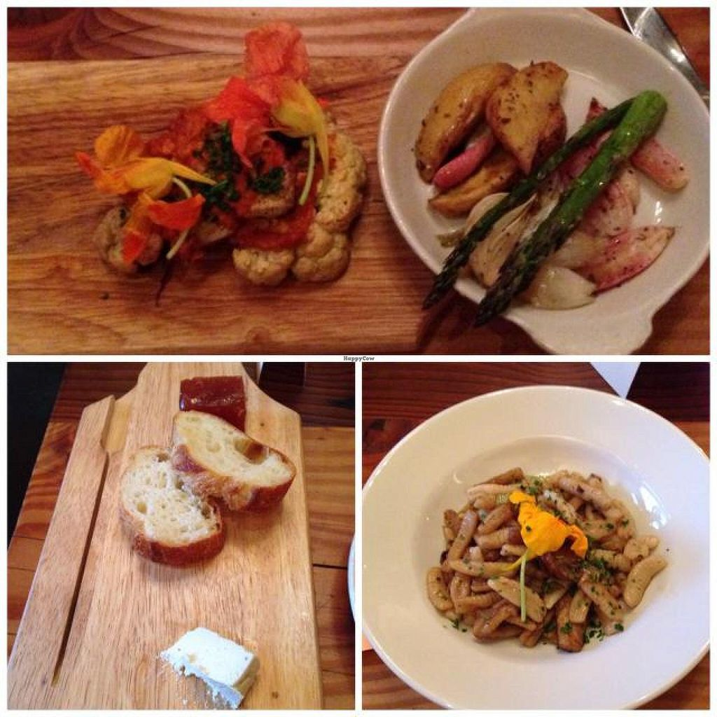 "Photo of CLOSED: Portobello Vegan Trattoria  by <a href=""/members/profile/MarisaClark"">MarisaClark</a> <br/>sampling from the tasting menu <br/> June 25, 2014  - <a href='/contact/abuse/image/17009/72811'>Report</a>"