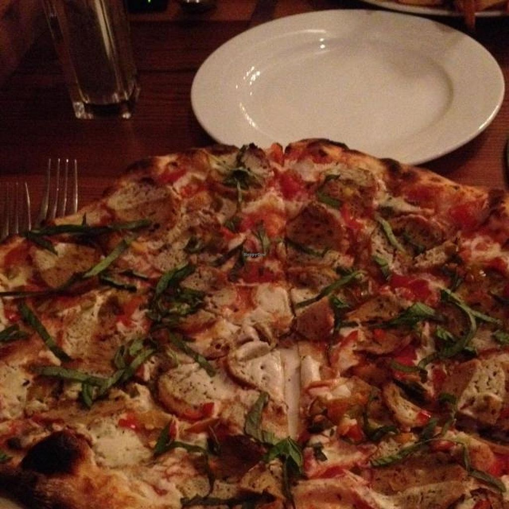 Photo of CLOSED: Portobello Vegan Trattoria  by drees2014 <br/>vegan pizza <br/> October 21, 2014  - <a href='/contact/abuse/image/17009/83562'>Report</a>