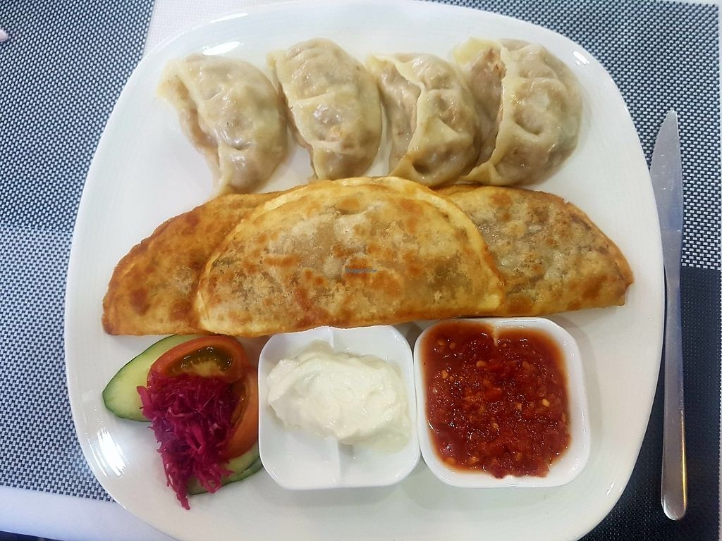 """Photo of Luna Blanca  by <a href=""""/members/profile/GrahamD"""">GrahamD</a> <br/>Traditional Mongolian food done vegan <br/> July 10, 2017  - <a href='/contact/abuse/image/17018/278697'>Report</a>"""