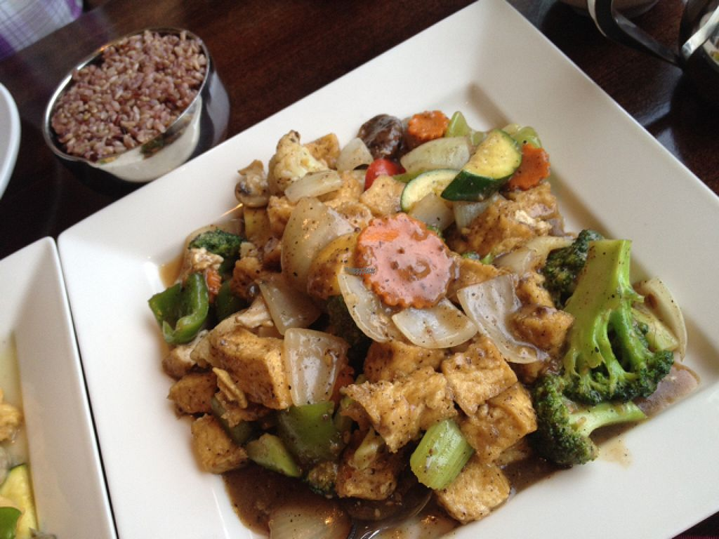 """Photo of Marco Polo Global Restaurant  by <a href=""""/members/profile/BradleyScott"""">BradleyScott</a> <br/>Mixed vegetables w/black bean sauce and tofu <br/> August 13, 2016  - <a href='/contact/abuse/image/17030/168379'>Report</a>"""