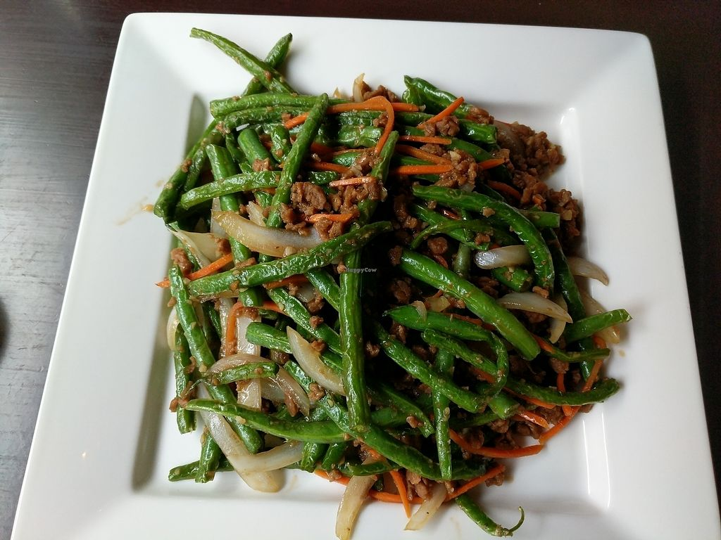 Photo of Marco Polo Global Restaurant  by J3551684 <br/>Garlic green beans w/ veggie beef <br/> August 10, 2017  - <a href='/contact/abuse/image/17030/291314'>Report</a>