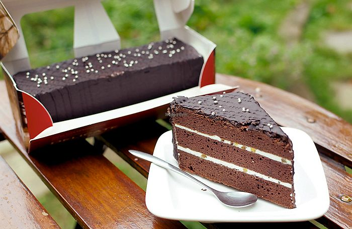 """Photo of Loving Hut - Guangfu South Rd  by <a href=""""/members/profile/Andrea1966"""">Andrea1966</a> <br/>Orange Chocolate cake <br/> July 17, 2017  - <a href='/contact/abuse/image/17062/281531'>Report</a>"""