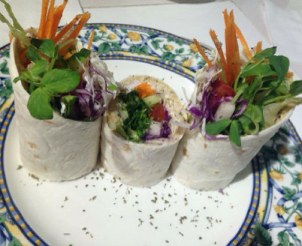"""Photo of Loving Hut - Guangfu South Rd  by <a href=""""/members/profile/dhassmannka"""">dhassmannka</a> <br/>hummus wrap <br/> December 18, 2014  - <a href='/contact/abuse/image/17062/88216'>Report</a>"""
