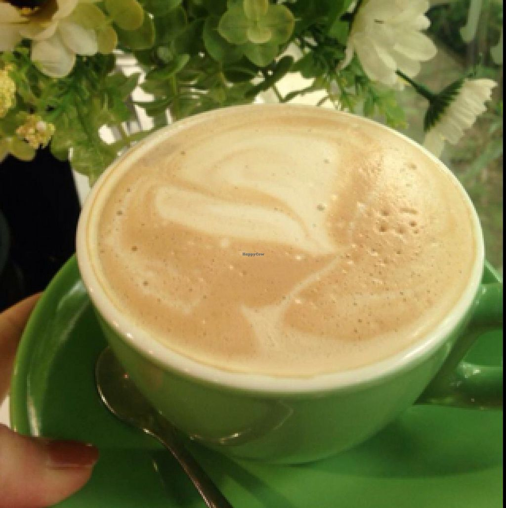 """Photo of Loving Hut - Guangfu South Rd  by <a href=""""/members/profile/dhassmannka"""">dhassmannka</a> <br/>Caramel caffé latté <br/> December 18, 2014  - <a href='/contact/abuse/image/17062/88218'>Report</a>"""