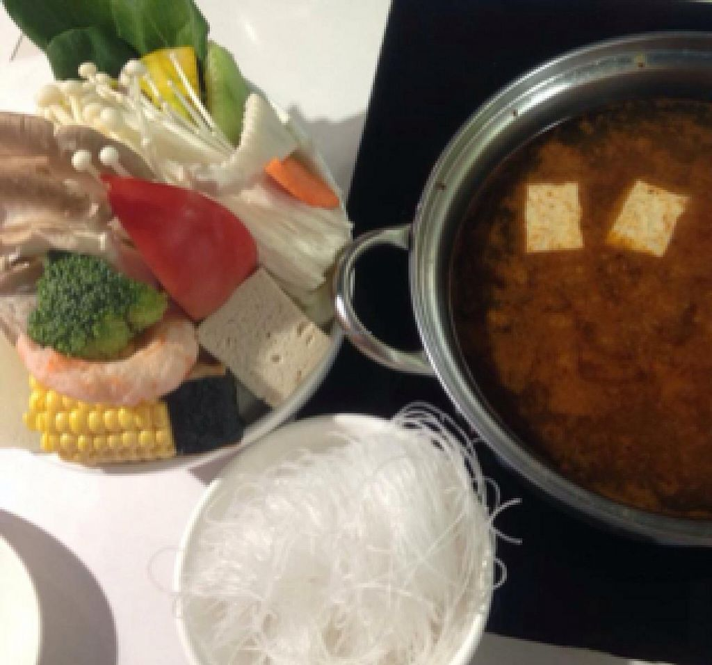 """Photo of Loving Hut - Guangfu South Rd  by <a href=""""/members/profile/dhassmannka"""">dhassmannka</a> <br/>Curry hot pot <br/> December 18, 2014  - <a href='/contact/abuse/image/17062/88220'>Report</a>"""