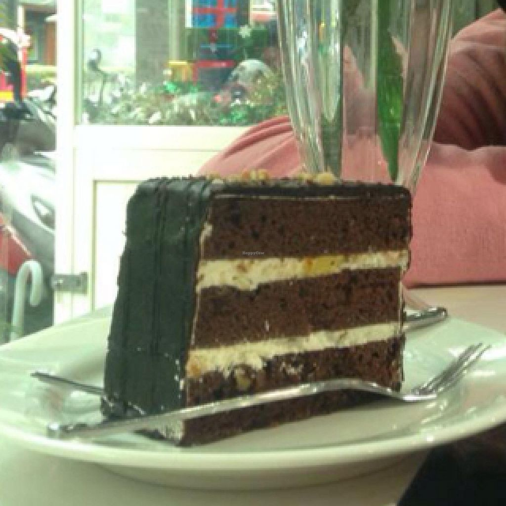 """Photo of Loving Hut - Guangfu South Rd  by <a href=""""/members/profile/dhassmannka"""">dhassmannka</a> <br/>Chocolate Cake <br/> December 18, 2014  - <a href='/contact/abuse/image/17062/88221'>Report</a>"""