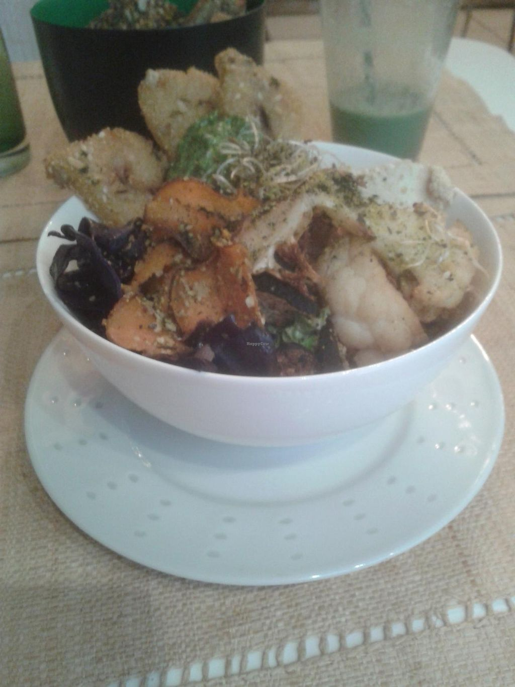 """Photo of CLOSED: Pousse-Pousse  by <a href=""""/members/profile/JonJon"""">JonJon</a> <br/>Super Bowl: hummus, grilled vegetables, salads, cereal cakes <br/> January 15, 2014  - <a href='/contact/abuse/image/17084/62569'>Report</a>"""