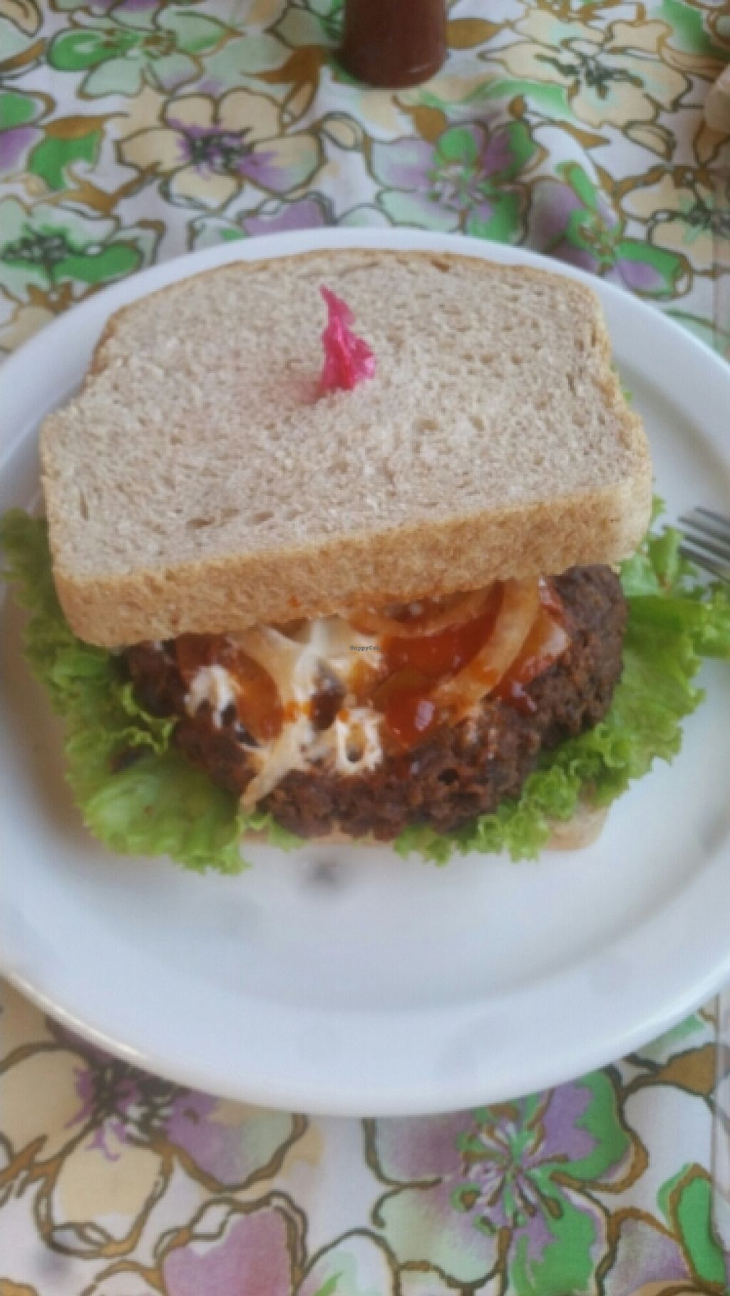 "Photo of Ima's Vegetarian Restaurant  by <a href=""/members/profile/Twism87"">Twism87</a> <br/>Spicy Bean Burger <br/> December 6, 2015  - <a href='/contact/abuse/image/17100/127470'>Report</a>"