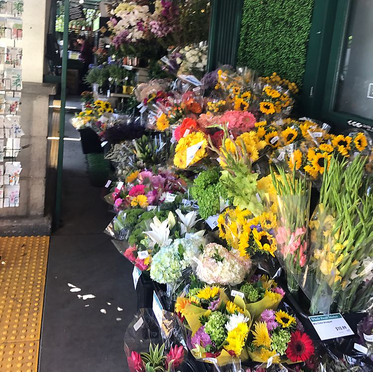"""Photo of Whole Foods Market - N Sepulveda  by <a href=""""/members/profile/Miss.Saye"""">Miss.Saye</a> <br/>The flower section is always filled with beautiful fresh ?  <br/> June 8, 2017  - <a href='/contact/abuse/image/1713/266838'>Report</a>"""