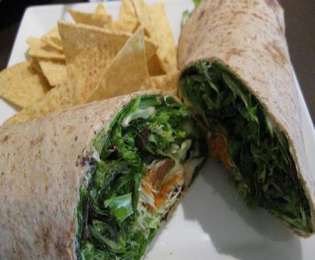 """Photo of CLOSED: Red Ginger Health Cafe  by <a href=""""/members/profile/cvxmelody"""">cvxmelody</a> <br/>Vegetarian wrap <br/> December 23, 2009  - <a href='/contact/abuse/image/17170/199344'>Report</a>"""