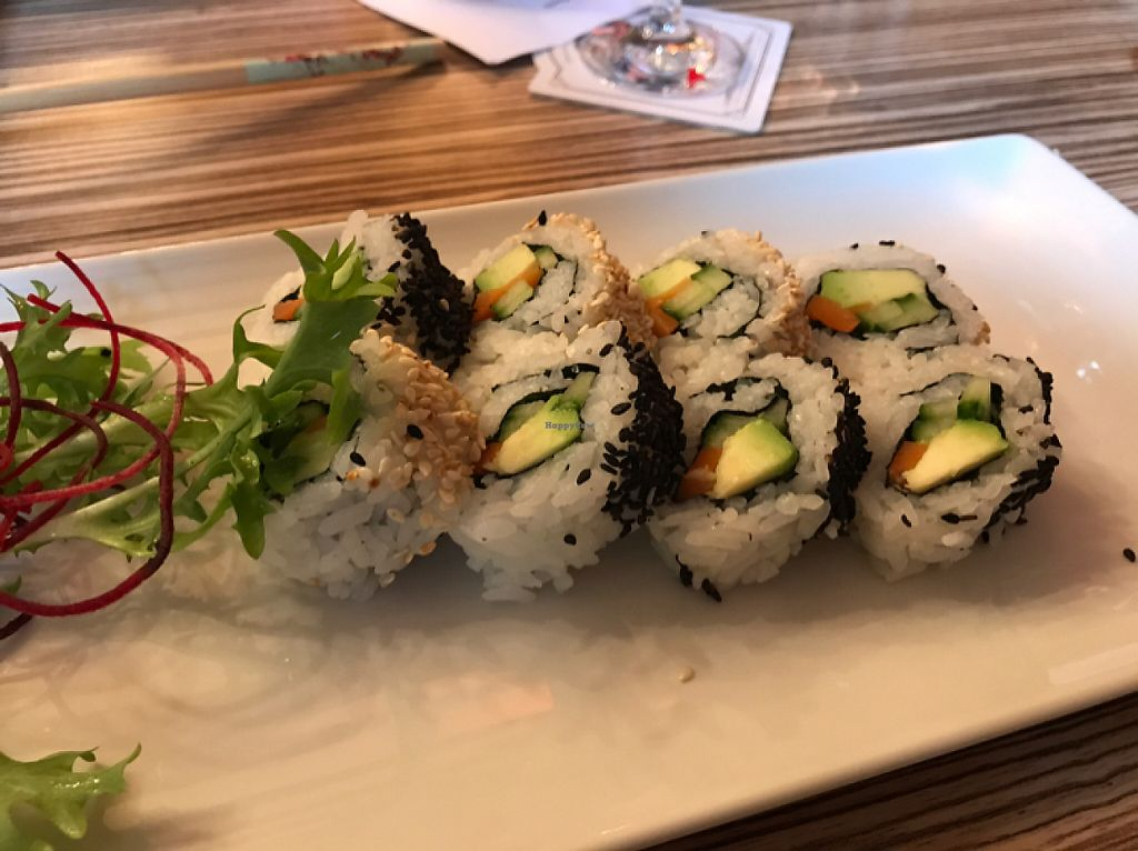 "Photo of Bar Barossa  by <a href=""/members/profile/Shannonlea"">Shannonlea</a> <br/>vegan California roll <br/> May 8, 2017  - <a href='/contact/abuse/image/17174/257119'>Report</a>"