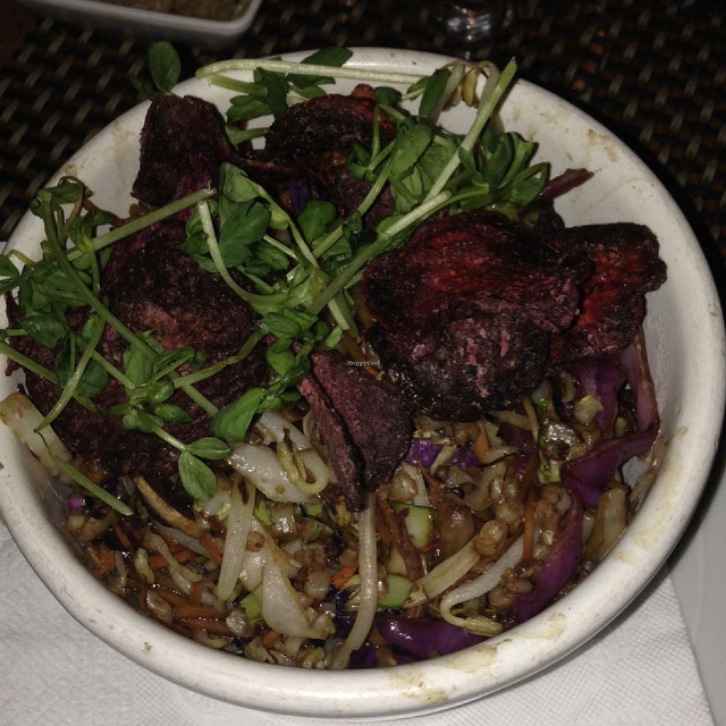 """Photo of CLOSED: Quimbombo  by <a href=""""/members/profile/AshleyLorden"""">AshleyLorden</a> <br/>vegetable wok, only vegan main dish <br/> April 11, 2015  - <a href='/contact/abuse/image/17187/98591'>Report</a>"""