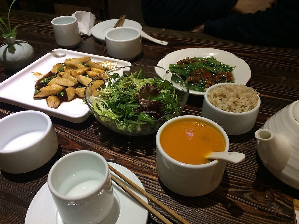 """Photo of Ji Xiang Cao - Lucky Zen & Veg Restaurant  by <a href=""""/members/profile/AnnaWacker"""">AnnaWacker</a> <br/>Delicious food at Lucky Veg <br/> January 18, 2018  - <a href='/contact/abuse/image/17209/347902'>Report</a>"""