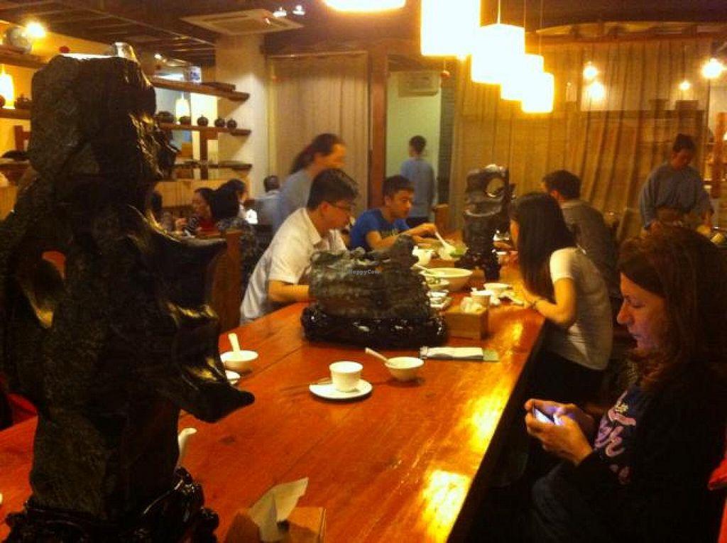 "Photo of Ji Xiang Cao - Lucky Zen & Veg Restaurant  by <a href=""/members/profile/Jrosworld"">Jrosworld</a> <br/>Inside <br/> October 4, 2014  - <a href='/contact/abuse/image/17209/82117'>Report</a>"