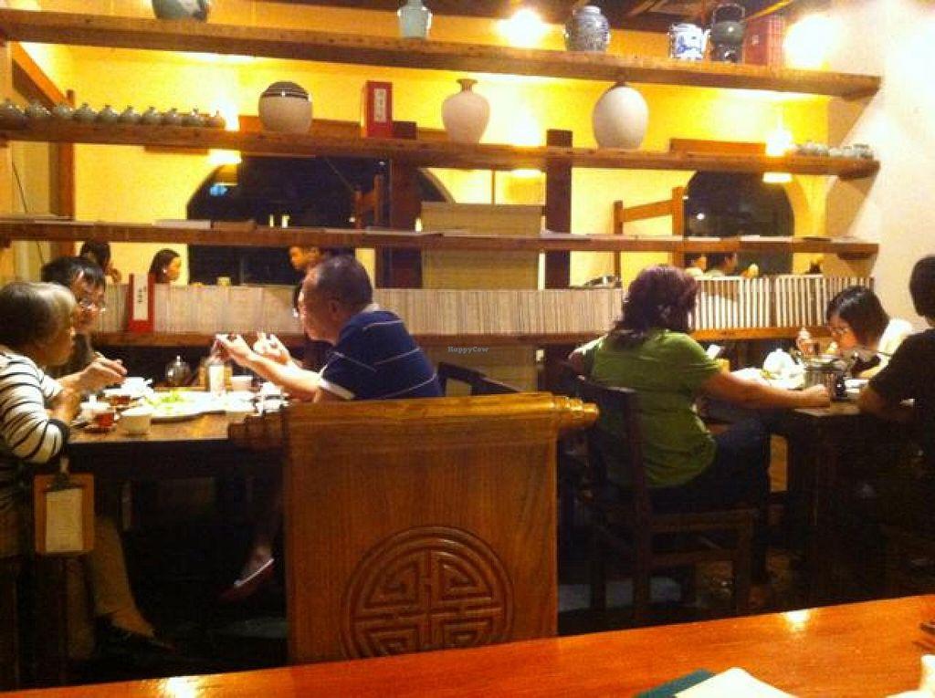 "Photo of Ji Xiang Cao - Lucky Zen & Veg Restaurant  by <a href=""/members/profile/Jrosworld"">Jrosworld</a> <br/>Inside <br/> October 4, 2014  - <a href='/contact/abuse/image/17209/82118'>Report</a>"
