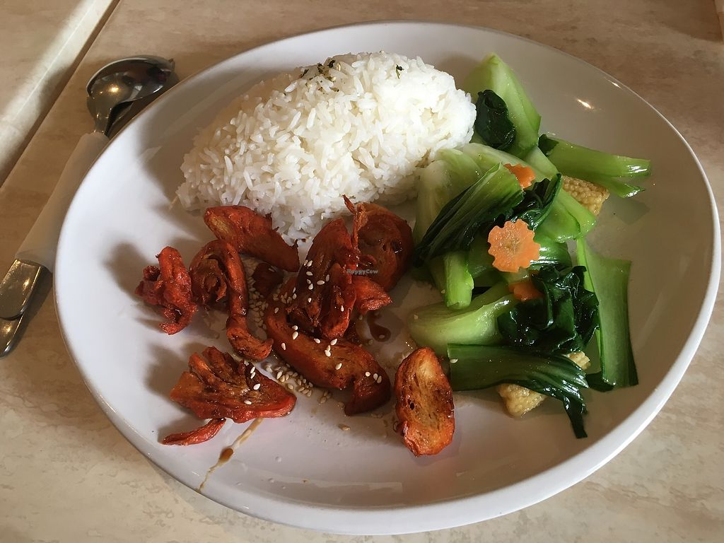 """Photo of Tea Master  by <a href=""""/members/profile/jojoinbrighton"""">jojoinbrighton</a> <br/>Red pork with rice <br/> August 6, 2017  - <a href='/contact/abuse/image/17221/289682'>Report</a>"""