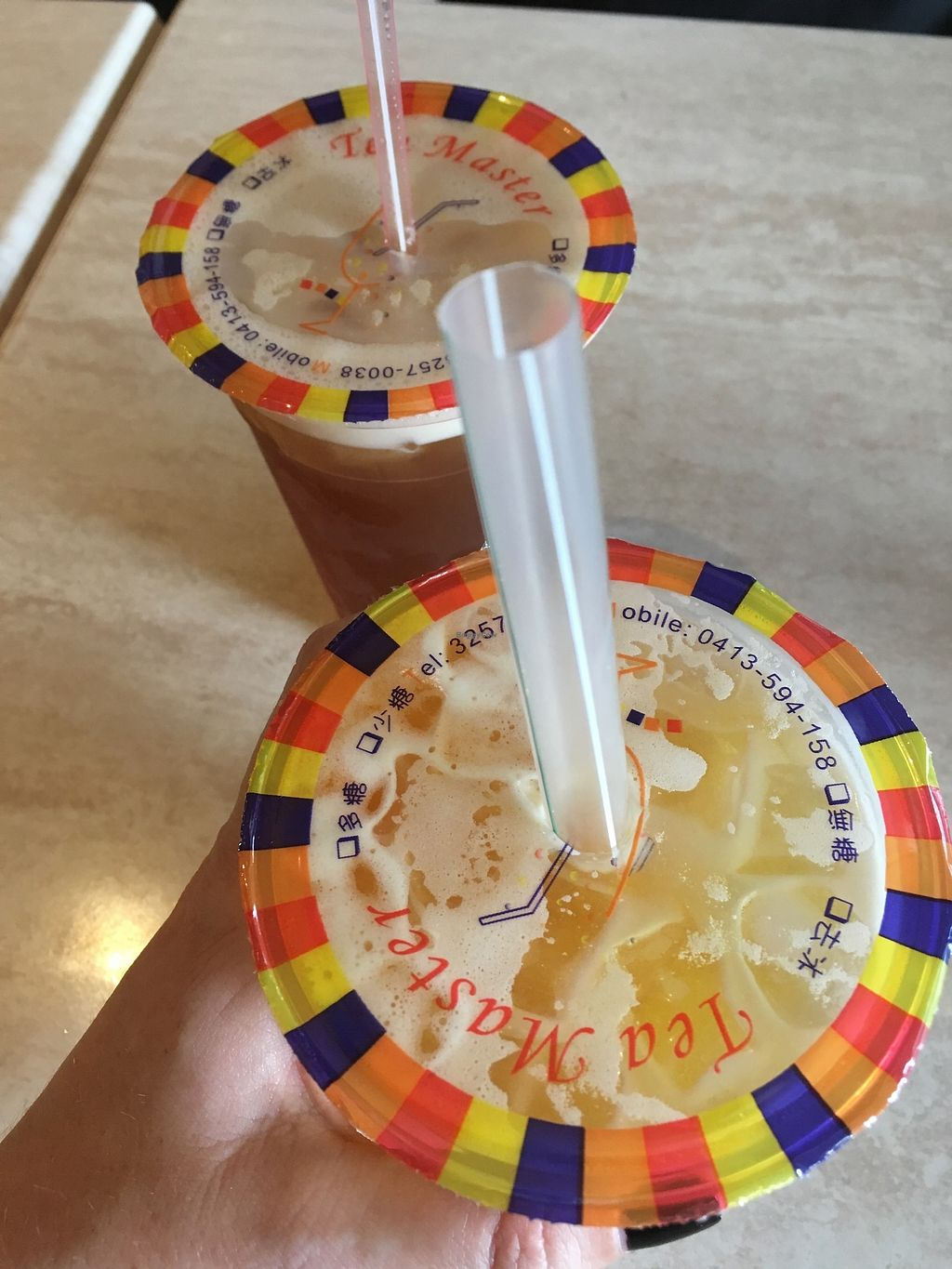 """Photo of Tea Master  by <a href=""""/members/profile/jojoinbrighton"""">jojoinbrighton</a> <br/>Bubble tea! <br/> August 6, 2017  - <a href='/contact/abuse/image/17221/289684'>Report</a>"""