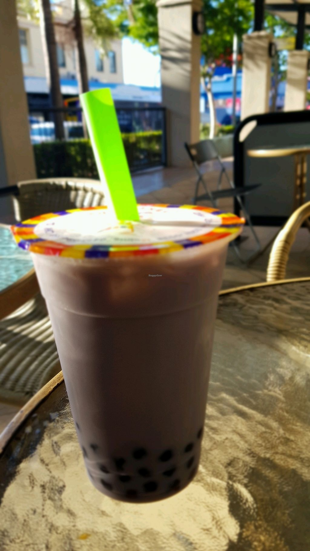 """Photo of Tea Master  by <a href=""""/members/profile/DadaShanti"""">DadaShanti</a> <br/>Taro bubble tea <br/> May 10, 2018  - <a href='/contact/abuse/image/17221/397684'>Report</a>"""
