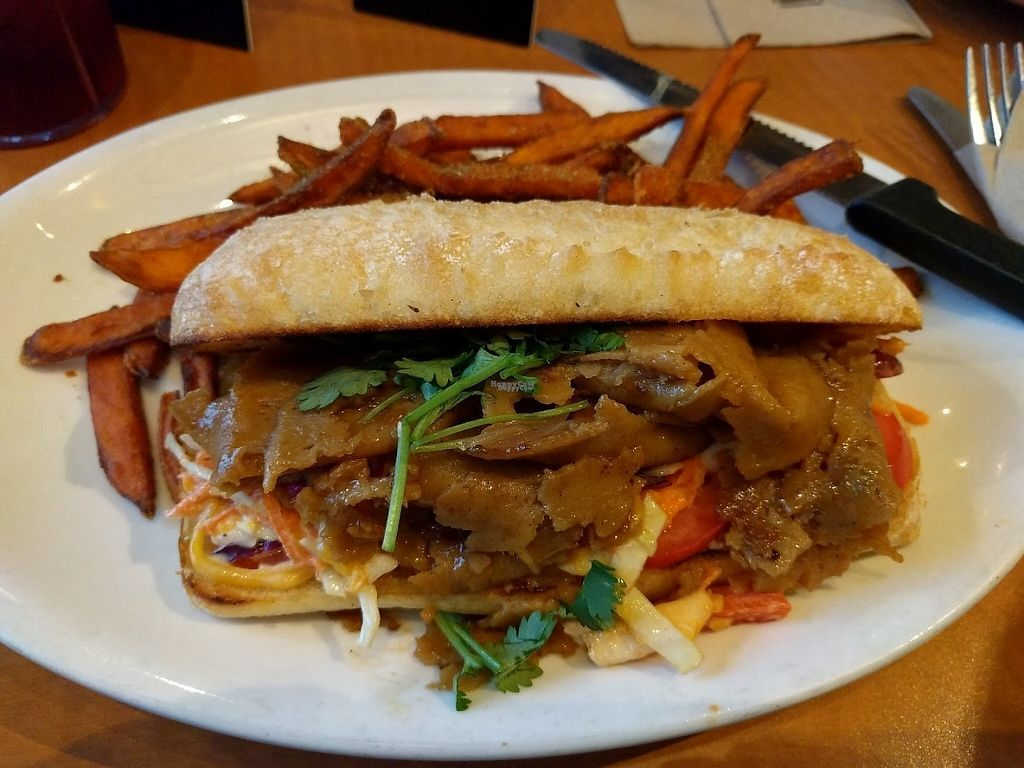 """Photo of Native Foods - Westwood  by <a href=""""/members/profile/Sonja%20and%20Dirk"""">Sonja and Dirk</a> <br/>Korean BBQ <br/> November 27, 2016  - <a href='/contact/abuse/image/1728/194927'>Report</a>"""