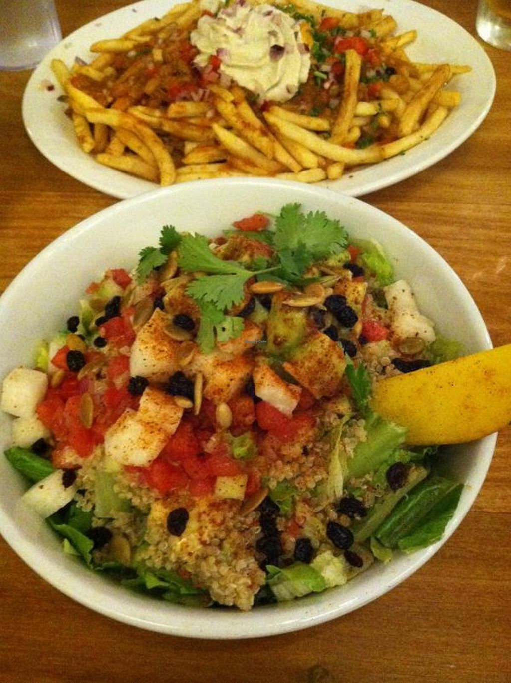 """Photo of Native Foods - Westwood  by <a href=""""/members/profile/Meggie%20and%20Ben"""">Meggie and Ben</a> <br/>Ensalada Azteca <br/> December 1, 2014  - <a href='/contact/abuse/image/1728/87001'>Report</a>"""