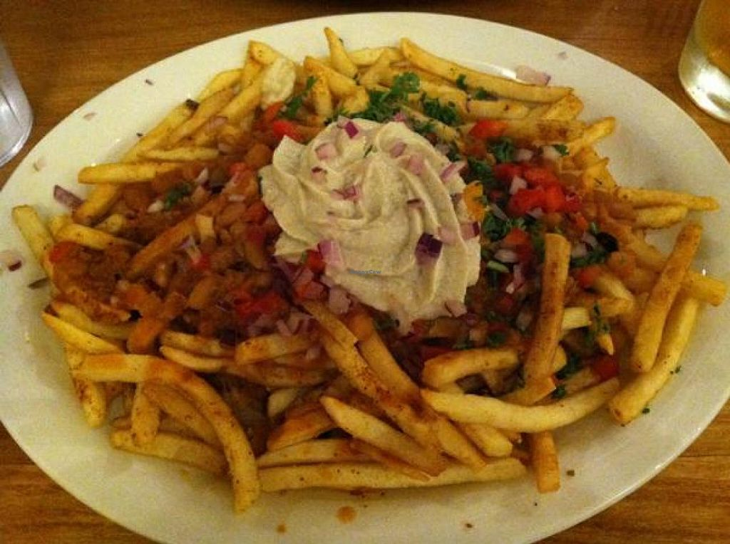 """Photo of Native Foods - Westwood  by <a href=""""/members/profile/Meggie%20and%20Ben"""">Meggie and Ben</a> <br/>Chili cheese fries <br/> December 1, 2014  - <a href='/contact/abuse/image/1728/87002'>Report</a>"""