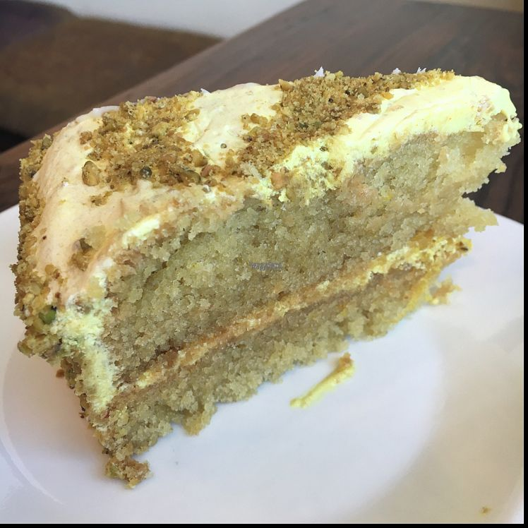 "Photo of Golden Mean Cafe  by <a href=""/members/profile/CatLovesBeets"">CatLovesBeets</a> <br/>a bad photo of a great cake! lemon and saffron cake- delicious and moist <br/> October 2, 2016  - <a href='/contact/abuse/image/17298/179297'>Report</a>"