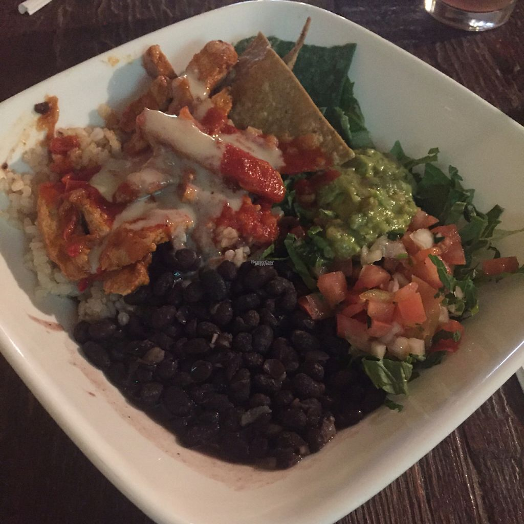 "Photo of Golden Mean Cafe  by <a href=""/members/profile/Amber1869"">Amber1869</a> <br/>burrito bowl <br/> April 13, 2017  - <a href='/contact/abuse/image/17298/247464'>Report</a>"