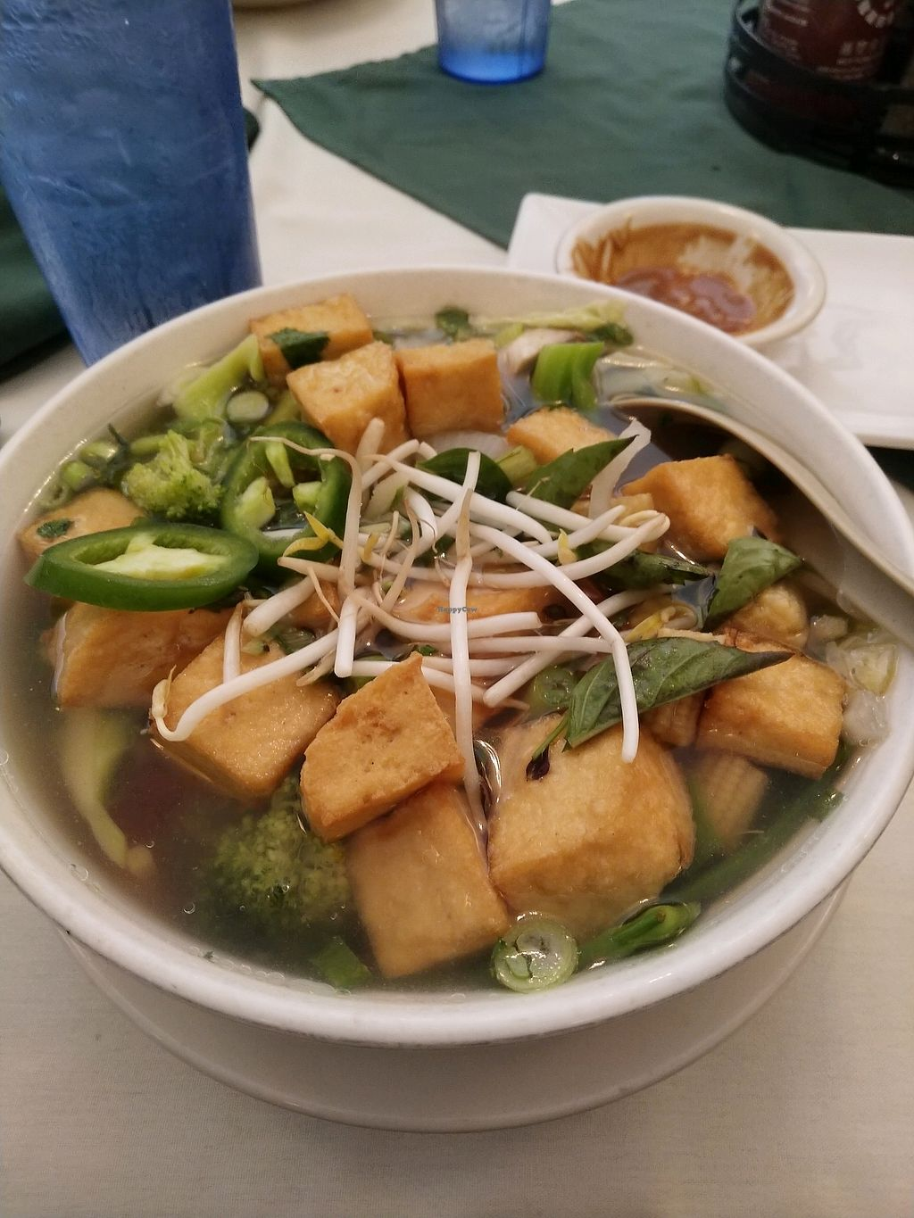 """Photo of Pho 20  by <a href=""""/members/profile/sriteja"""">sriteja</a> <br/>pho with veggie broth <br/> May 15, 2018  - <a href='/contact/abuse/image/17312/400324'>Report</a>"""
