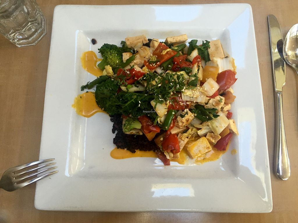 """Photo of Pyramid Bistro  by <a href=""""/members/profile/ligawm"""">ligawm</a> <br/>Lemongrass Tofu $15 <br/> February 14, 2016  - <a href='/contact/abuse/image/1737/136316'>Report</a>"""
