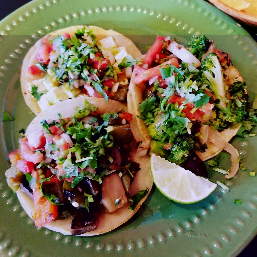 "Photo of Viva Mexicana  by <a href=""/members/profile/tikhonova87"">tikhonova87</a> <br/>Tofu, broccoli and eggplant tacos <br/> September 5, 2017  - <a href='/contact/abuse/image/17437/301265'>Report</a>"