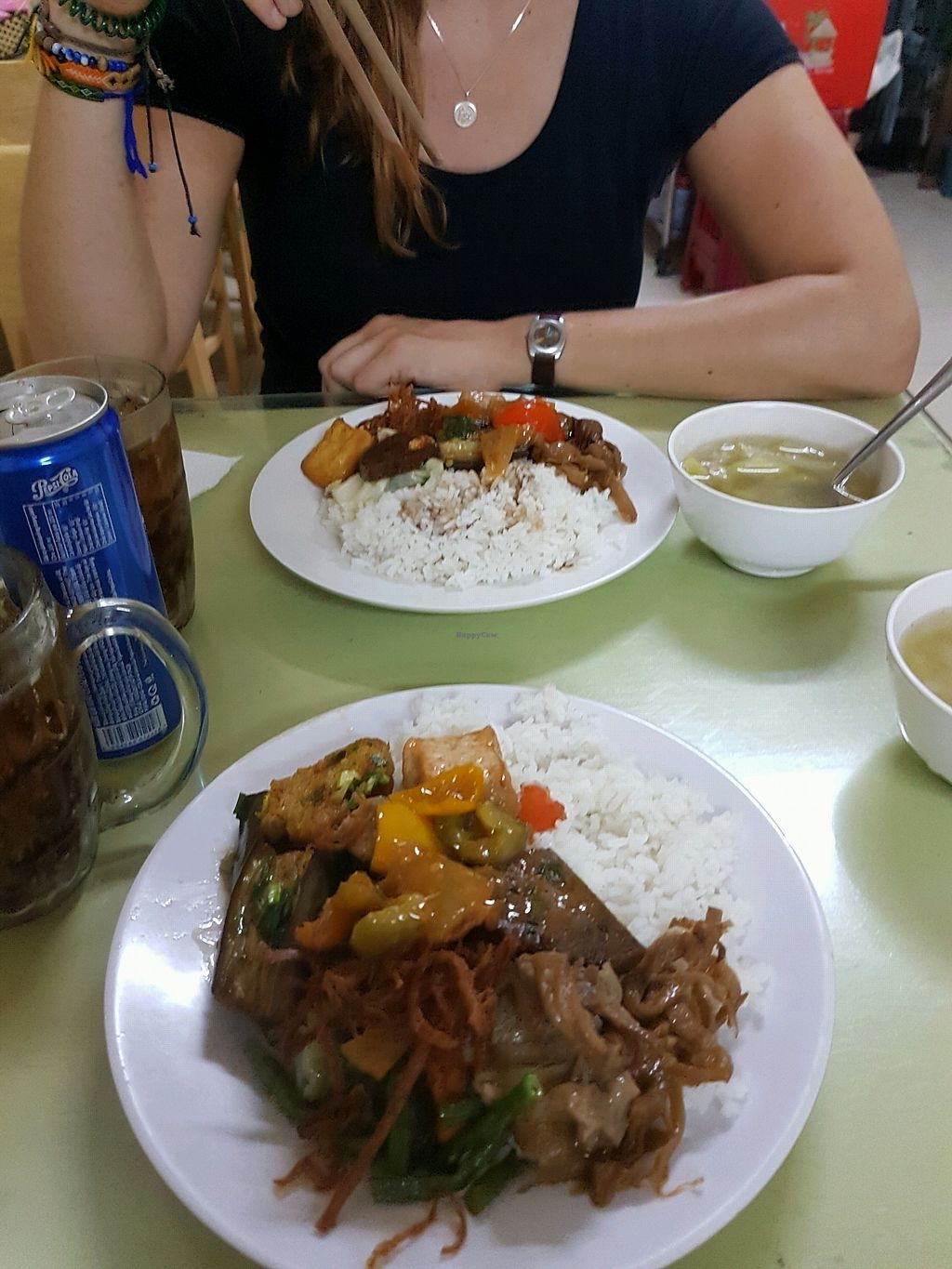 """Photo of Thanh Ai  by <a href=""""/members/profile/chrudy8"""">chrudy8</a> <br/>Rice with vegetables and tofu <br/> November 28, 2017  - <a href='/contact/abuse/image/17475/330005'>Report</a>"""