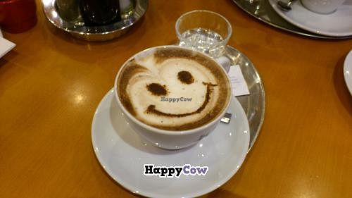 """Photo of The Heart of Joy Cafe  by <a href=""""/members/profile/olgucz"""">olgucz</a> <br/>cappuccino with soymilk <br/> August 15, 2013  - <a href='/contact/abuse/image/17506/53308'>Report</a>"""