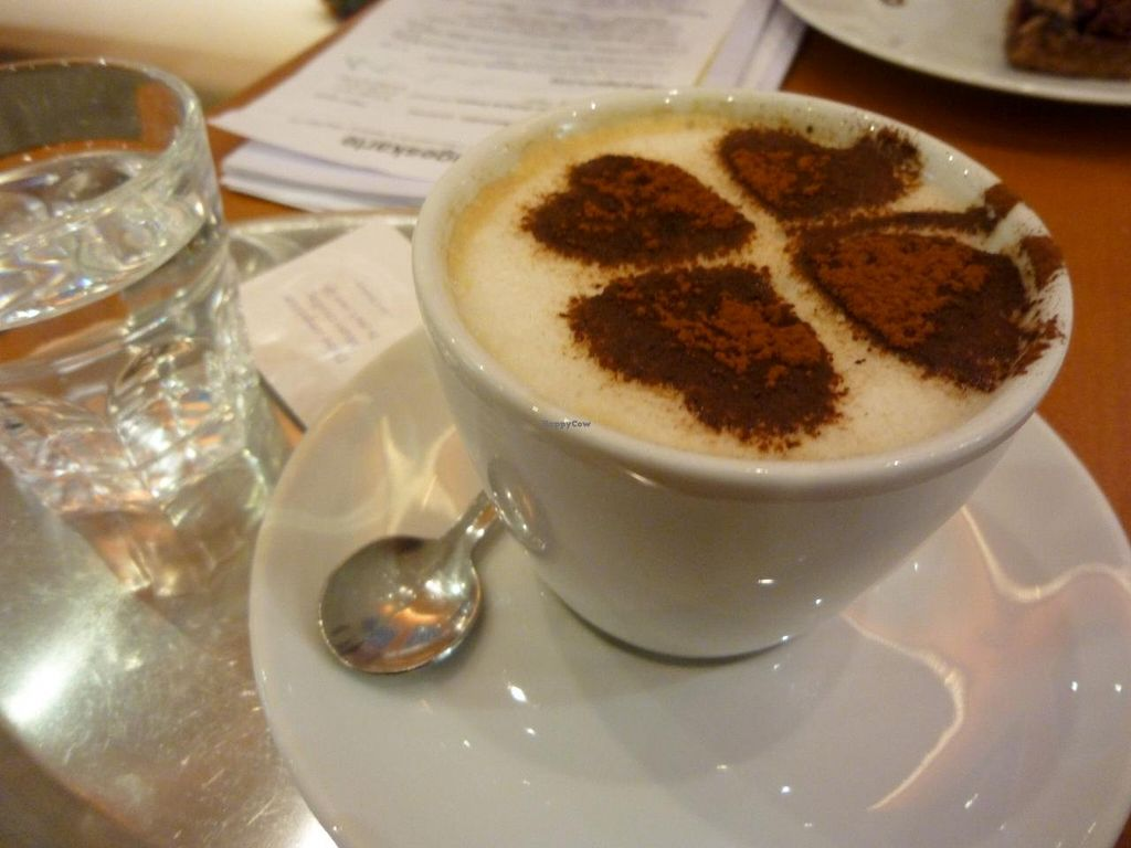 """Photo of The Heart of Joy Cafe  by <a href=""""/members/profile/Elisabeth_Vienne"""">Elisabeth_Vienne</a> <br/>Yummy coffee with nice decoration! :) <br/> May 15, 2014  - <a href='/contact/abuse/image/17506/70054'>Report</a>"""