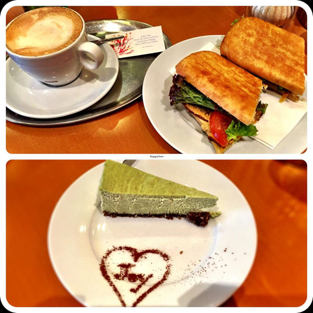"""Photo of The Heart of Joy Cafe  by <a href=""""/members/profile/Hill"""">Hill</a> <br/>all vegan <br/> January 11, 2015  - <a href='/contact/abuse/image/17506/90077'>Report</a>"""