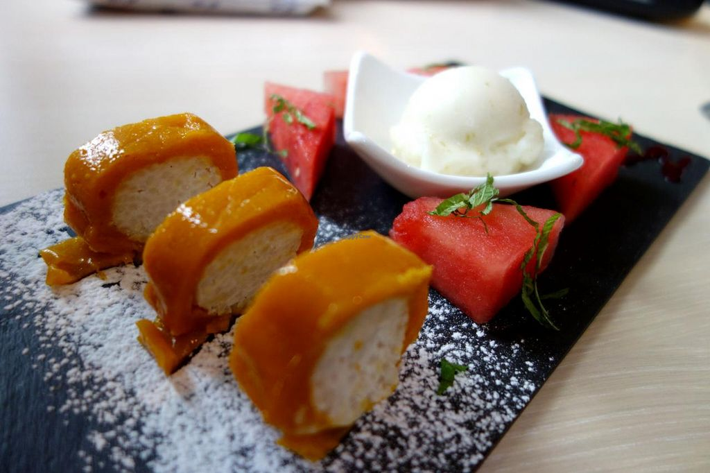 """Photo of CLOSED: De Eetstee  by <a href=""""/members/profile/Gudrun"""">Gudrun</a> <br/>dessert: mango rolls <br/> September 3, 2014  - <a href='/contact/abuse/image/17519/78892'>Report</a>"""