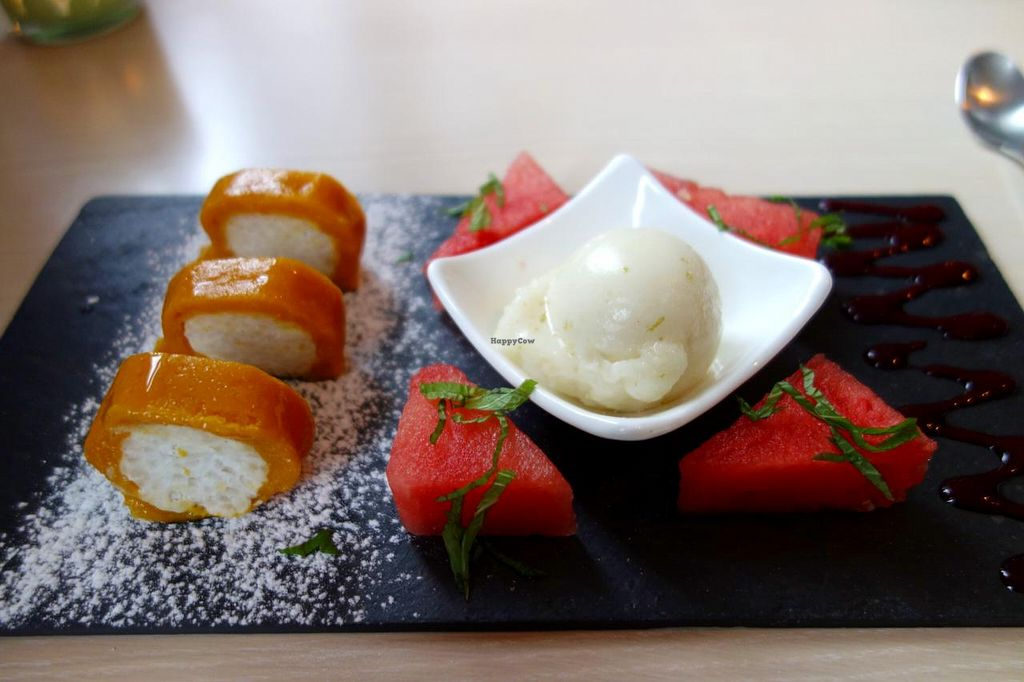 """Photo of CLOSED: De Eetstee  by <a href=""""/members/profile/Gudrun"""">Gudrun</a> <br/>dessert: mango rolls <br/> September 3, 2014  - <a href='/contact/abuse/image/17519/78893'>Report</a>"""