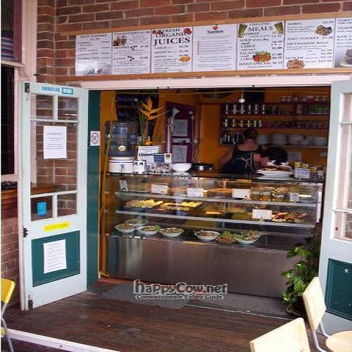 """Photo of Santos Cafe  by <a href=""""/members/profile/vegan_simon"""">vegan_simon</a> <br/> May 14, 2009  - <a href='/contact/abuse/image/17539/1936'>Report</a>"""